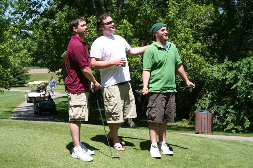 Shane Hofmann, Joe Ploetz, Dave Feldt at Tiger Open
