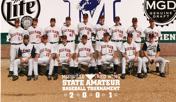 2001 State Tournament Team