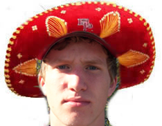 The Sombrero last guy to strike out three times in a game)